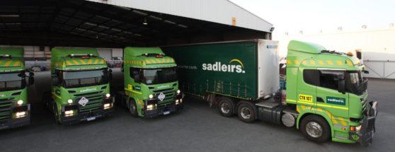 Sadleirs Freight trucks