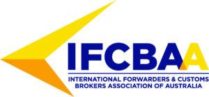 International Forwarders & Customs Brokers association of Australia logo